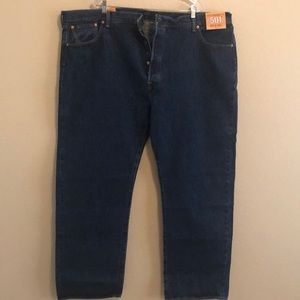 Levi's 501 Big & Tall Button-Fly Jeans